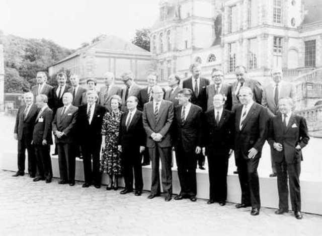 Conseil européen de Fontainebleau