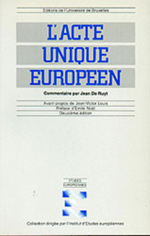 Acte unique européen