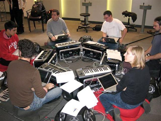 First laptop orchestra at Priceton University