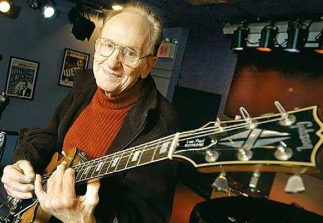 First electric guitar is invented by Les Paul