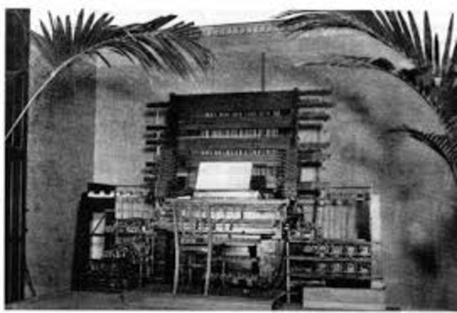 The Telharmonium was invented