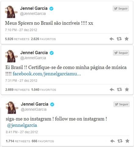 Primeiros tweets em Português