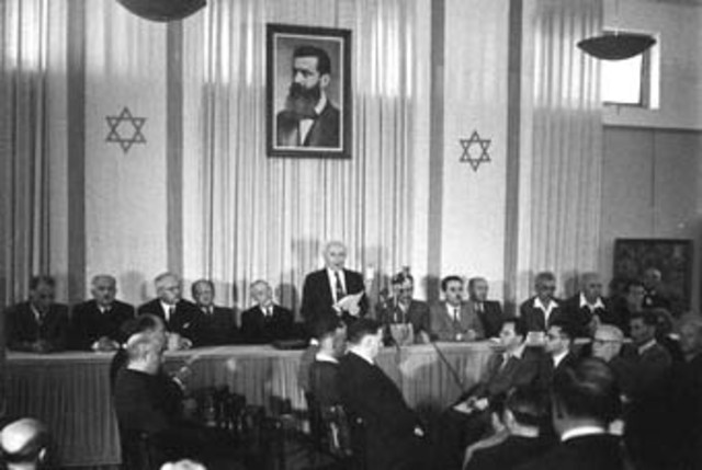 Israel Declares Independence