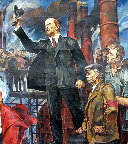 Inicio de la revolución rusa