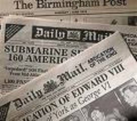 Sierra Leone prints thier first newspapers