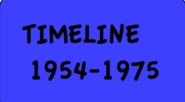 1954- 1975 APUSH Timeline by cheerleading