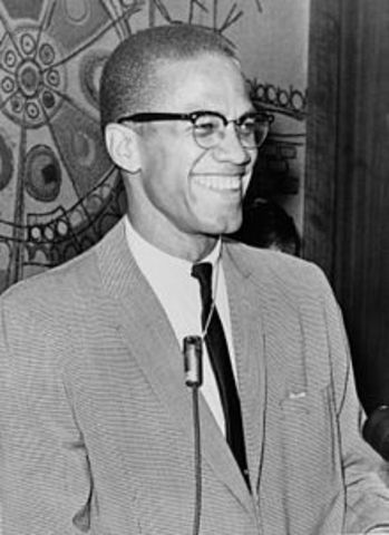 Malcolm X asassinated