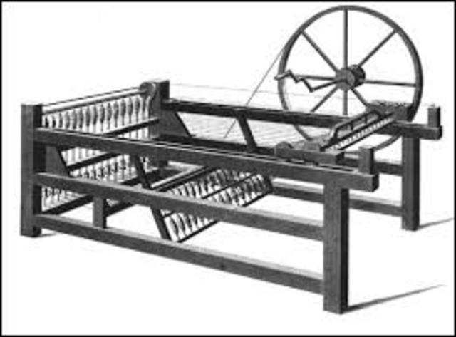 James Hargreaves invents the spinning jenny
