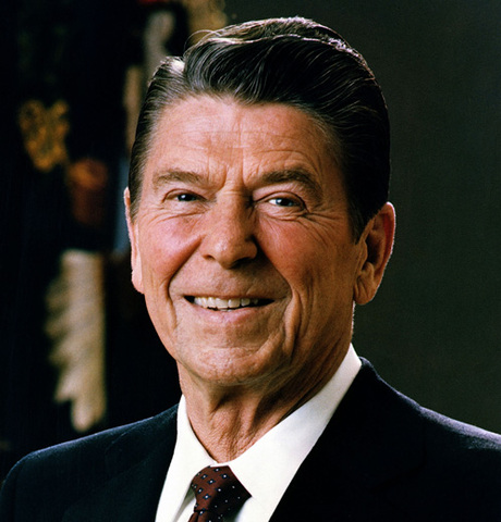 Ronald Reagan elected president of United States
