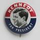 Kennedy for president buttonjpg