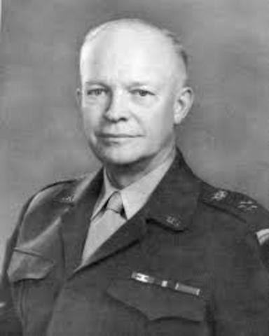 President Dwight Eisehower