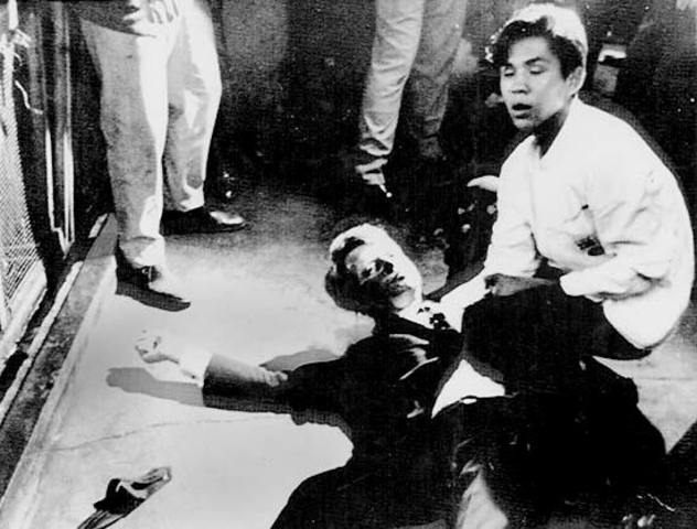 Robert Kennedy assassinated