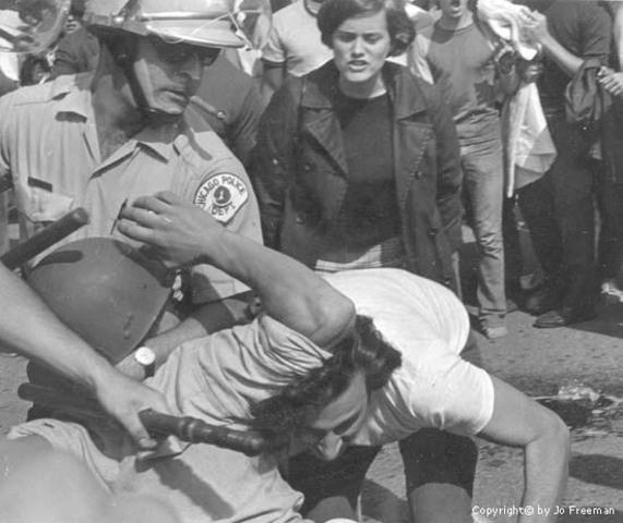 Riots at Democratic Convention in Chicago