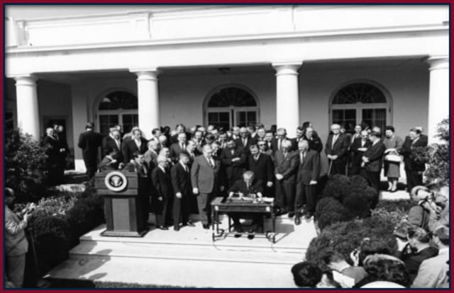 Johnson's Economic Opportunity Act of 1964