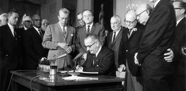 Johnson's Higher Education Act