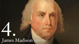 James Madison timeline