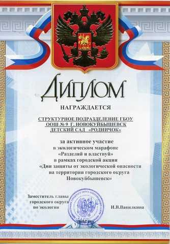 Достижения коллектива 2012 год