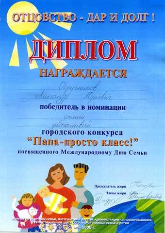 Достижения воспитанников 2005-2006 г.г.