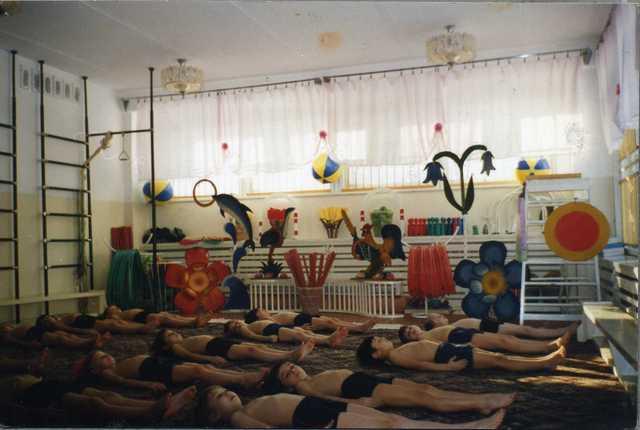 Организация развивающей среды 1986 - 2011 г.г.