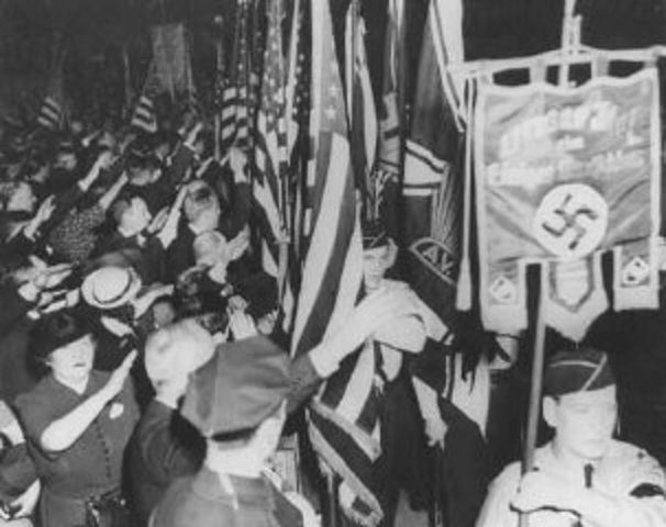 Nazi Rally in New York