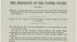 Truman Doctrine timeline