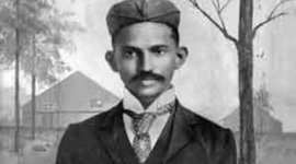 "Mohandas Gandhi""s Life timeline"