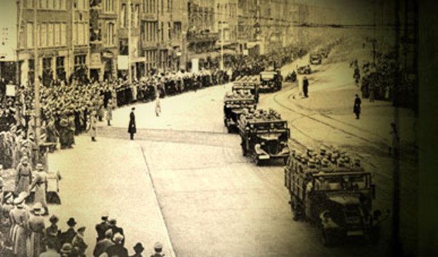 La invasión Alemana