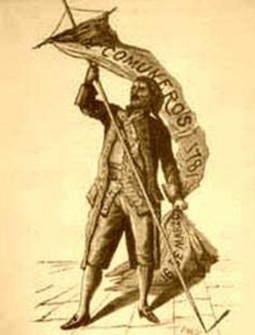 Rebelion de los Comuneros.