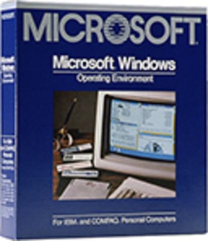 1982–1985: Представление Windows 1.0