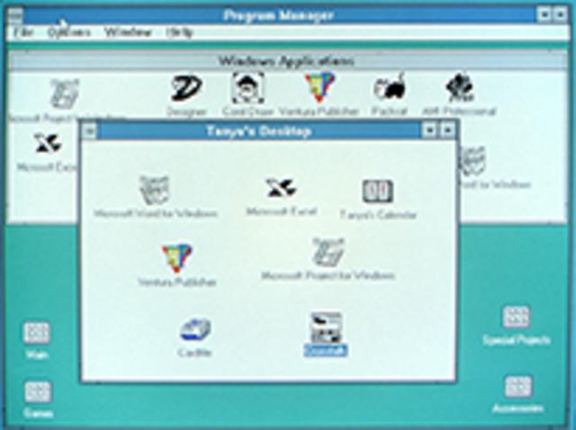1990–1994: Windows 3.0–Windows NT — поддержка графики
