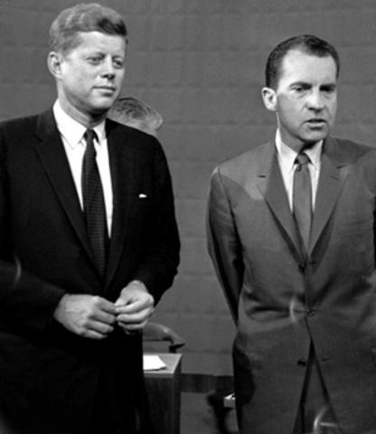 John F. Kennedy beats Richard Nixon in the November 8 general election