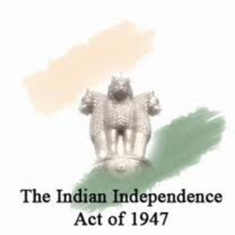 The Indian Independence Act