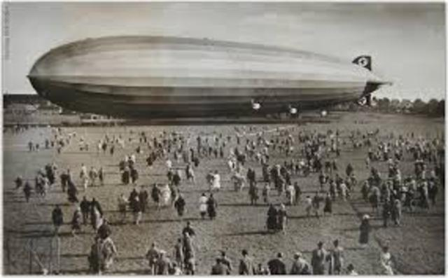 The zeppelin is invented