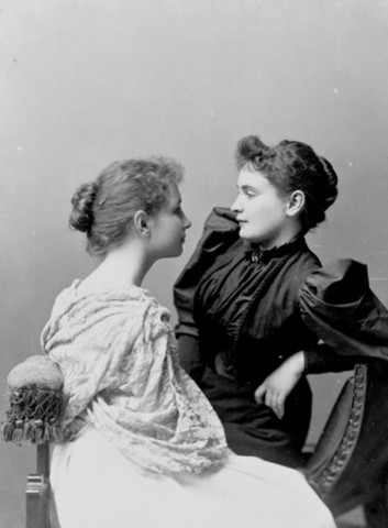 Helen Keller Meets Annie Sullivan