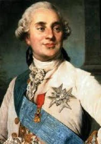 King Louis the XVI is executed
