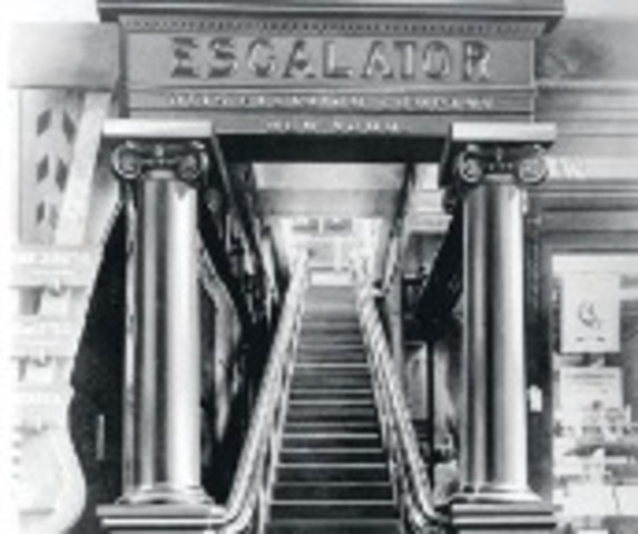 The escalator is patented