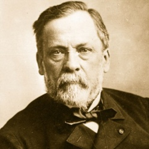 Louis Pasteur was born.
