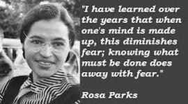 The Rosa Parks Story timeline