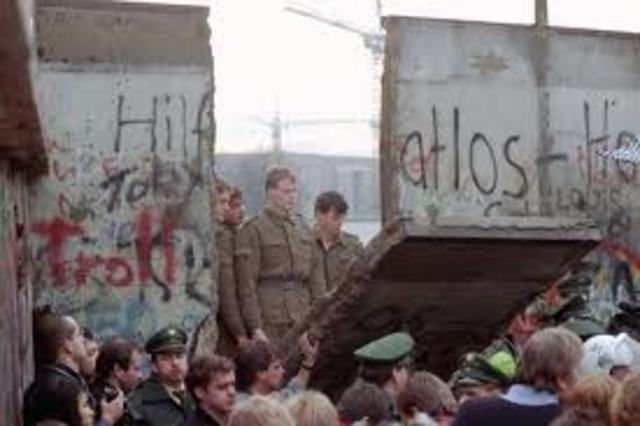 Berlin Wall is Torn Down
