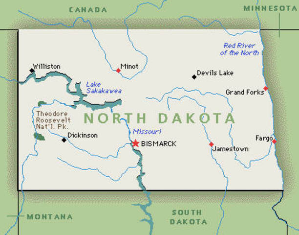 North Dakota: Most Recent Smoking Ban