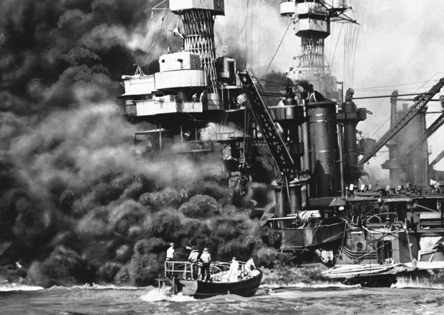 Pearl Harbor attacked.
