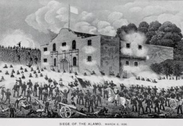 Seige of the Alamo