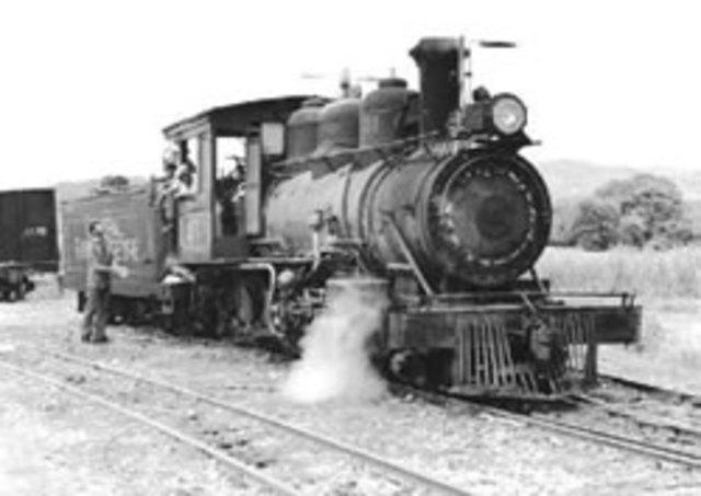 Aparicion del Ferrocarril