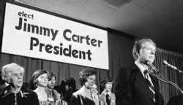 Jimmy carter running for president