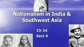 Nationalism in India and Southwest Asia timeline
