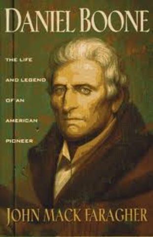 Daniel Boone -Book
