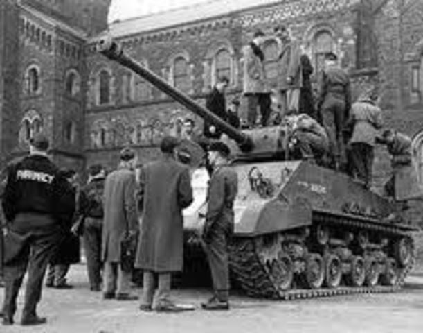 Escenario de la segunda guerra mundial