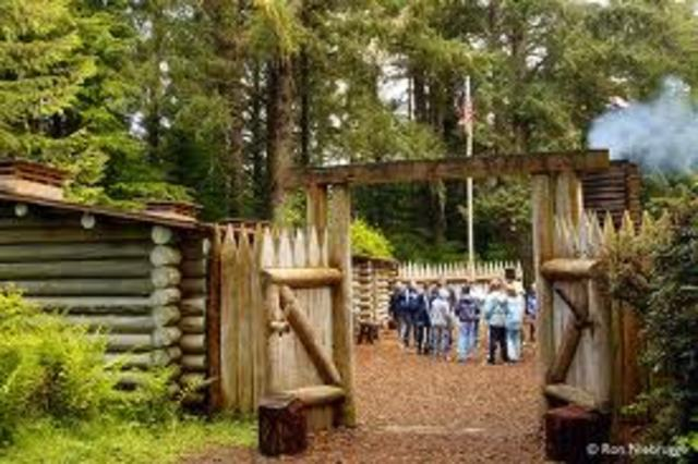 Stay at Fort Clatsop