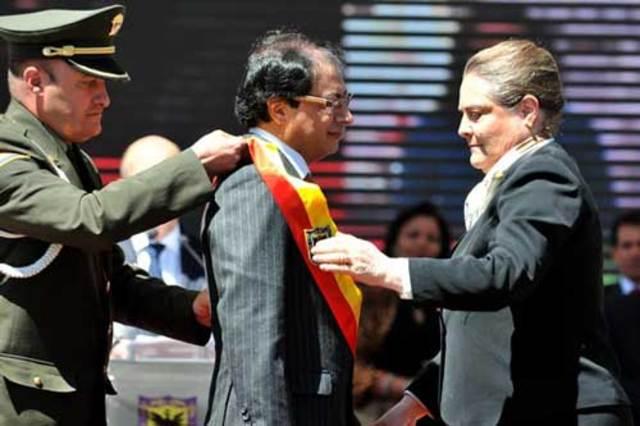 Elected as the Major of Bogotá