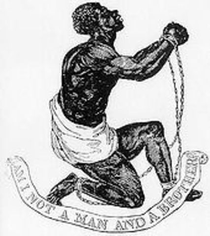The British banned slave trade.
